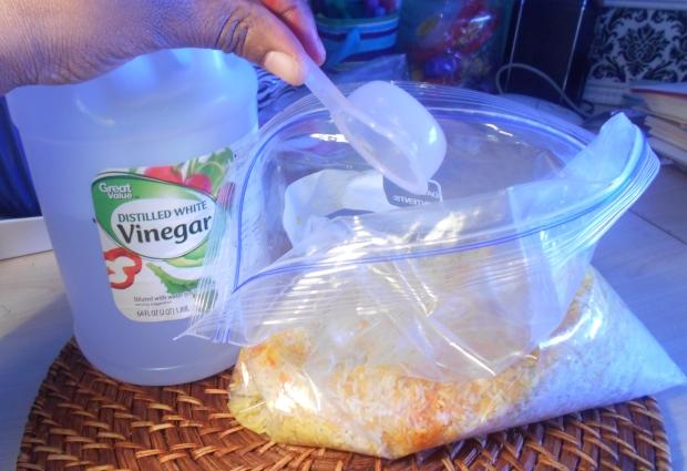 add vinegar