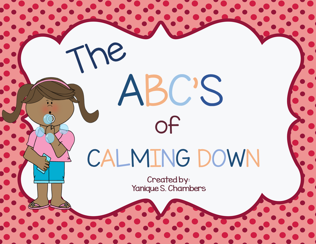 ABC's of Calming Down Cards